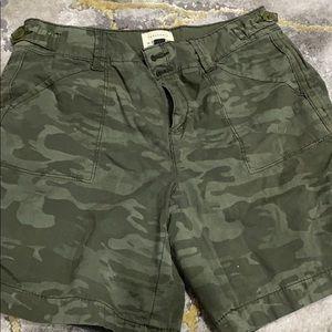 Sanctuary shorts camo